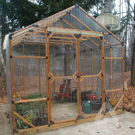 Corrugated Polycarbonate Hobby Greenhouse Indoor Greenhouse Greenhouse Plans Greenhouse