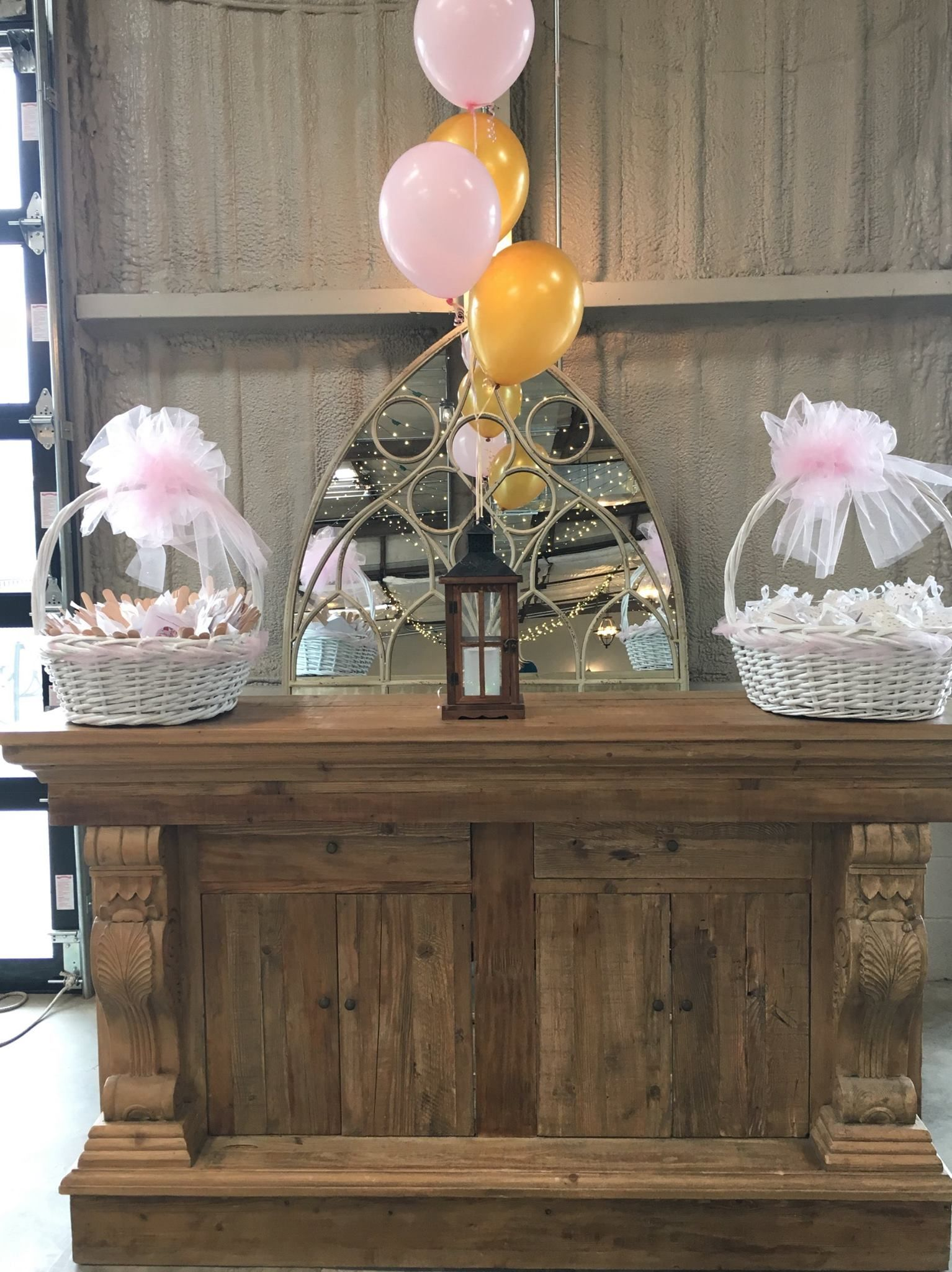 Bar Set Up The Peyton Decor Package Baby Shower Rustic