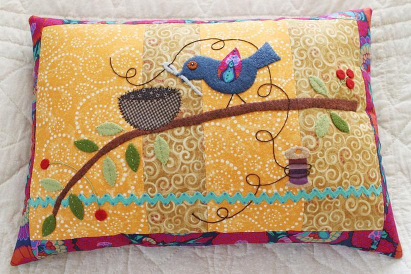 How to Make Quilted Pillow Covers: 6 Patterns to Try | Bird pillow ... : quilted pillows - Adamdwight.com