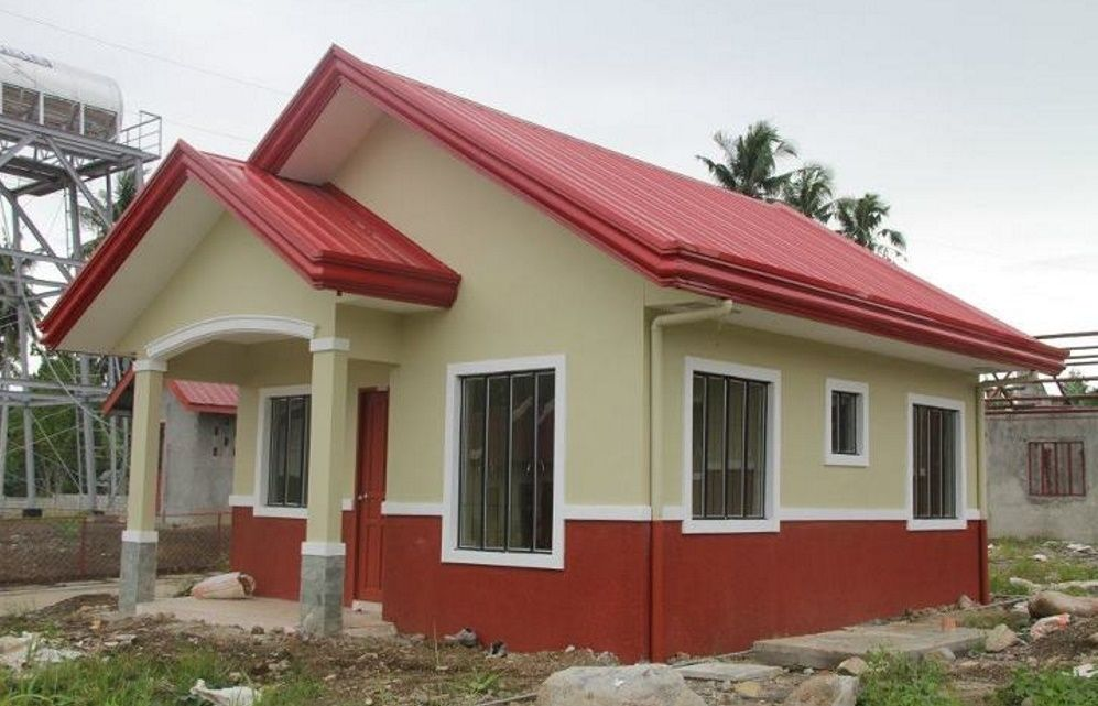 Love To Know Small House Price Philippines With Color Of The Walls And Roof Of A Bright And S Affordable House Design House Design Pictures Unique House Design