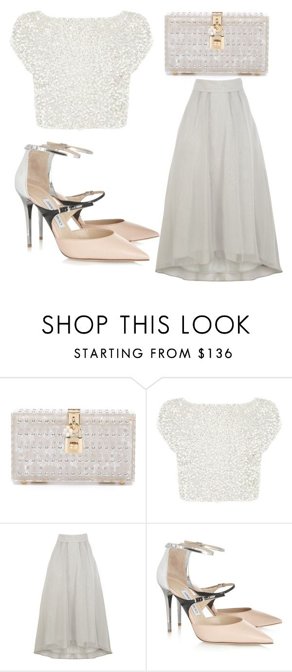 """Untitled #2867"" by evalentina92 ❤ liked on Polyvore featuring Dolce&Gabbana, Coast, Jimmy Choo, women's clothing, women's fashion, women, female, woman, misses and juniors"