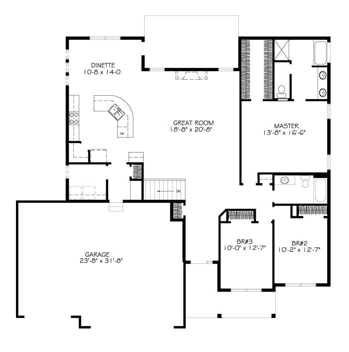 The Edgebrook Charleston Homes Floor Plans Ranch Charleston Homes House Plans