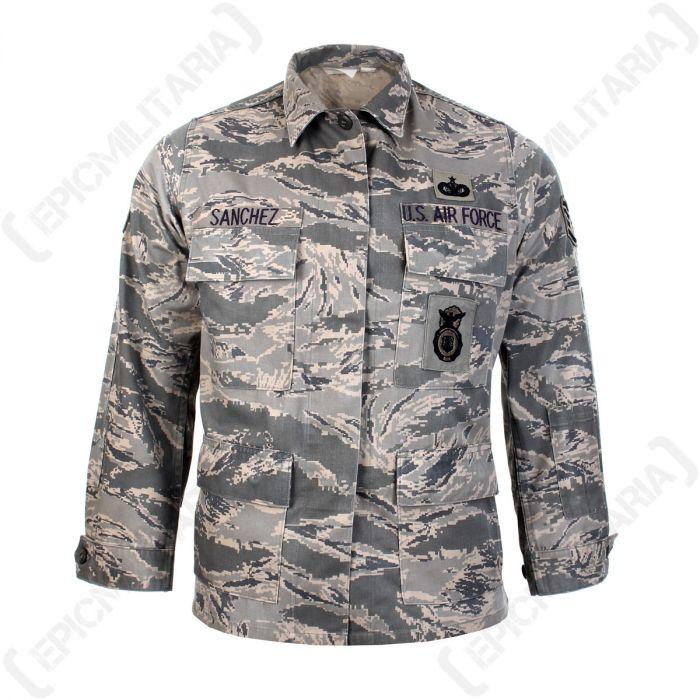 Fantastic Quality Us Airforce Surplus Abu Field Jackets In Their Iconic Abu Tiger Stripe Camouflage The Jackets Fas Army Surplus Jacket Field Jacket Jackets