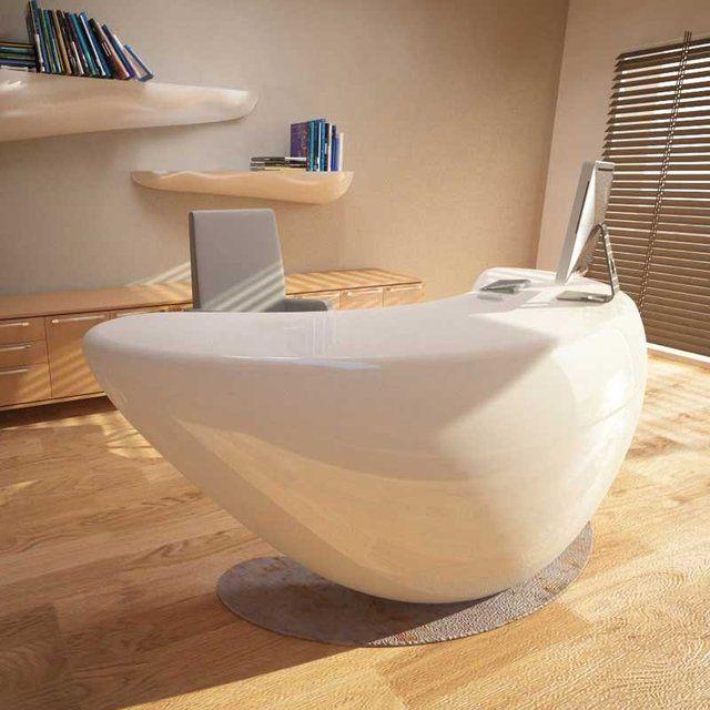 Boomerang Desk #Desk, #Futuristic, #Modern, #Urban