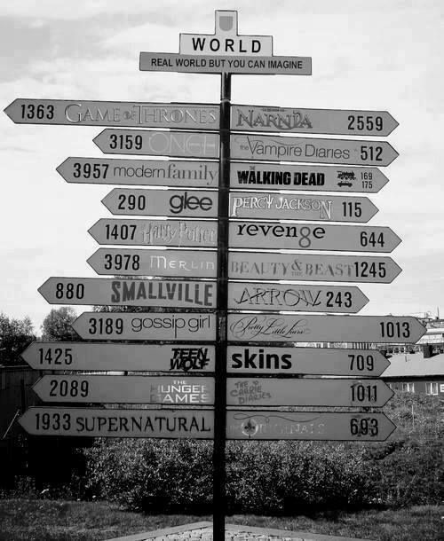 This is so cool! Fandoms unite!! *<<< i agree.....BUT I CANT GO IN SEVEN DIFFERENT DIRECTIONS AT THE SAME TIME. WHYYYY