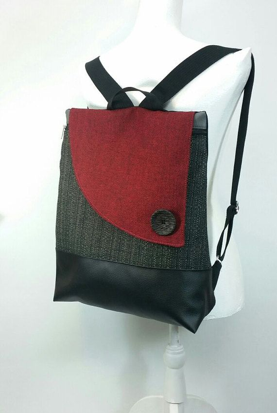 90b9e448a8697d Woman Laptop Backpack Computer Bag Laptop Bag by ronitbags   Ronit ...