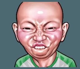 Angry Face Of Children Stiker Line Line Store Lukisan Wajah Ilustrasi Lucu Wajah