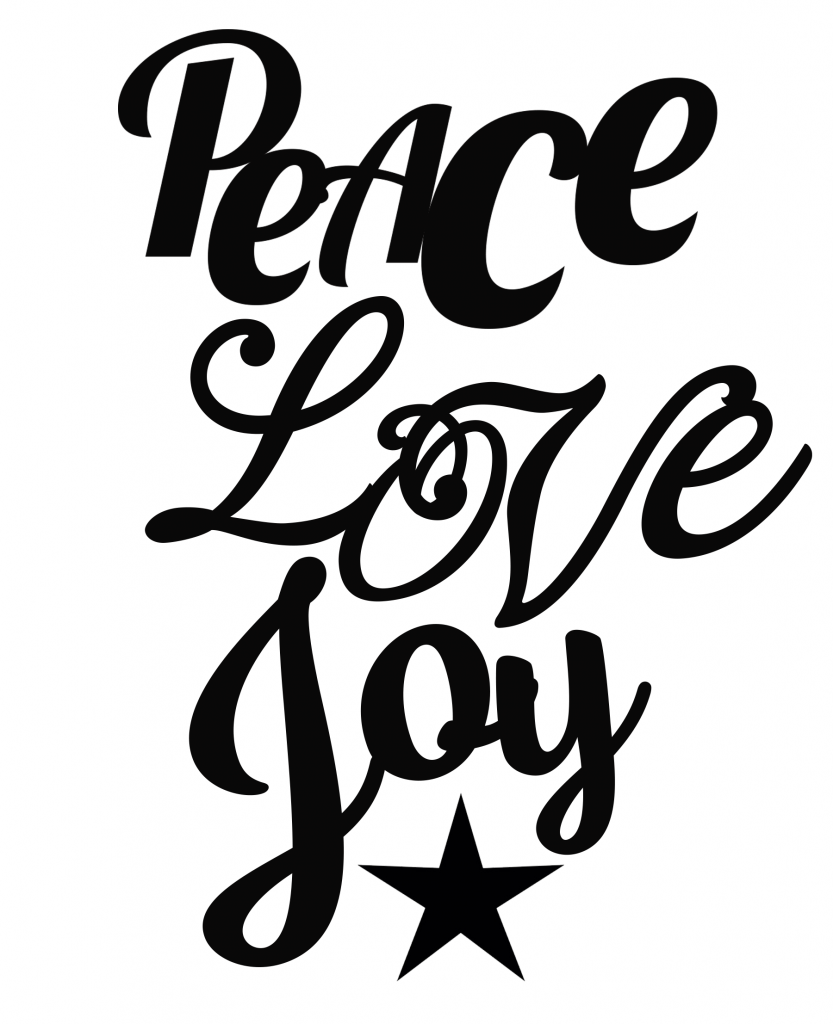 Download Free Peace Love Joy SVG File | Peace and love, Christmas ...
