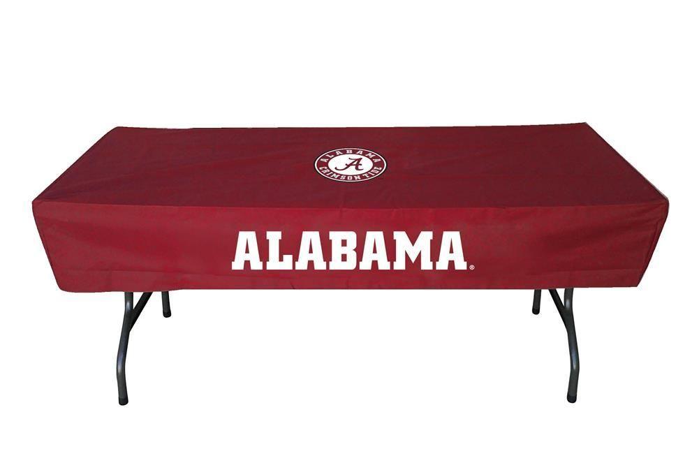 Alabama Crimson Tide Bama Table Cover 6 ft Logo Tablecloth