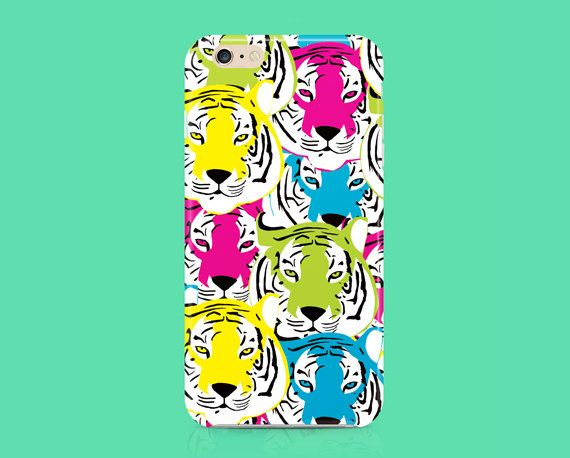 Tiger iPhone 6 Case, hipster iPhone 6 case, cool iphone 6 case, cute iPhone 6 case, iPhone 6 cover, Iphone covers, Tiger Phone case