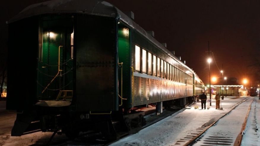 French lick haunted train