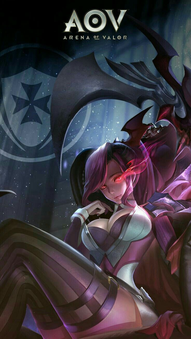 Mobile Legends Game Concept Art Fantasy Characters Anime Characters Wallpaper Art