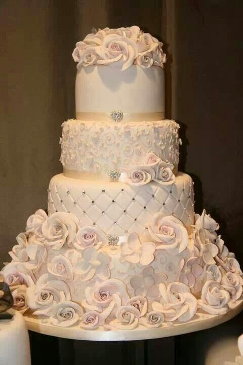 Champagne Color Wedding Cakes Cake