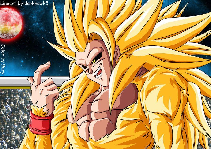 Ssj5 En Multiverse Xd By 9ary Goku Wallpaper Evil Goku