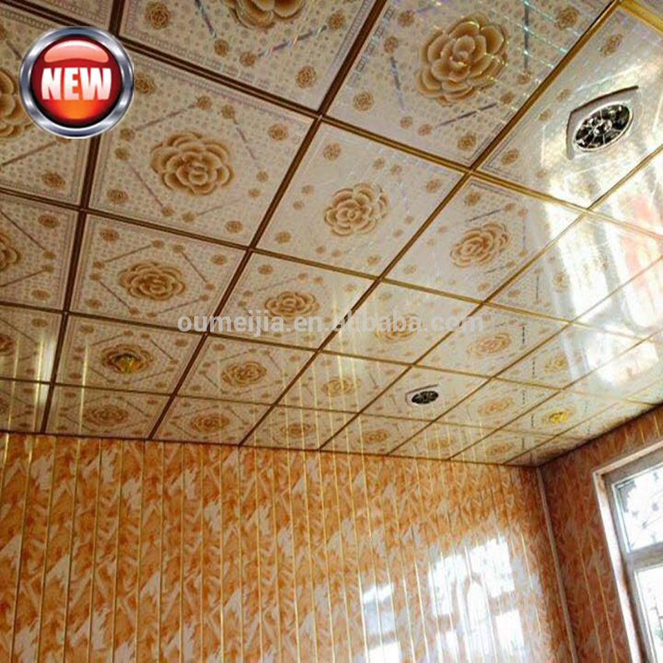 Waterproof Fireproof Pvc Ceiling Panel Factory Price Best Quality Pvc Ceiling Ceiling Panels Pvc Ceiling Panels