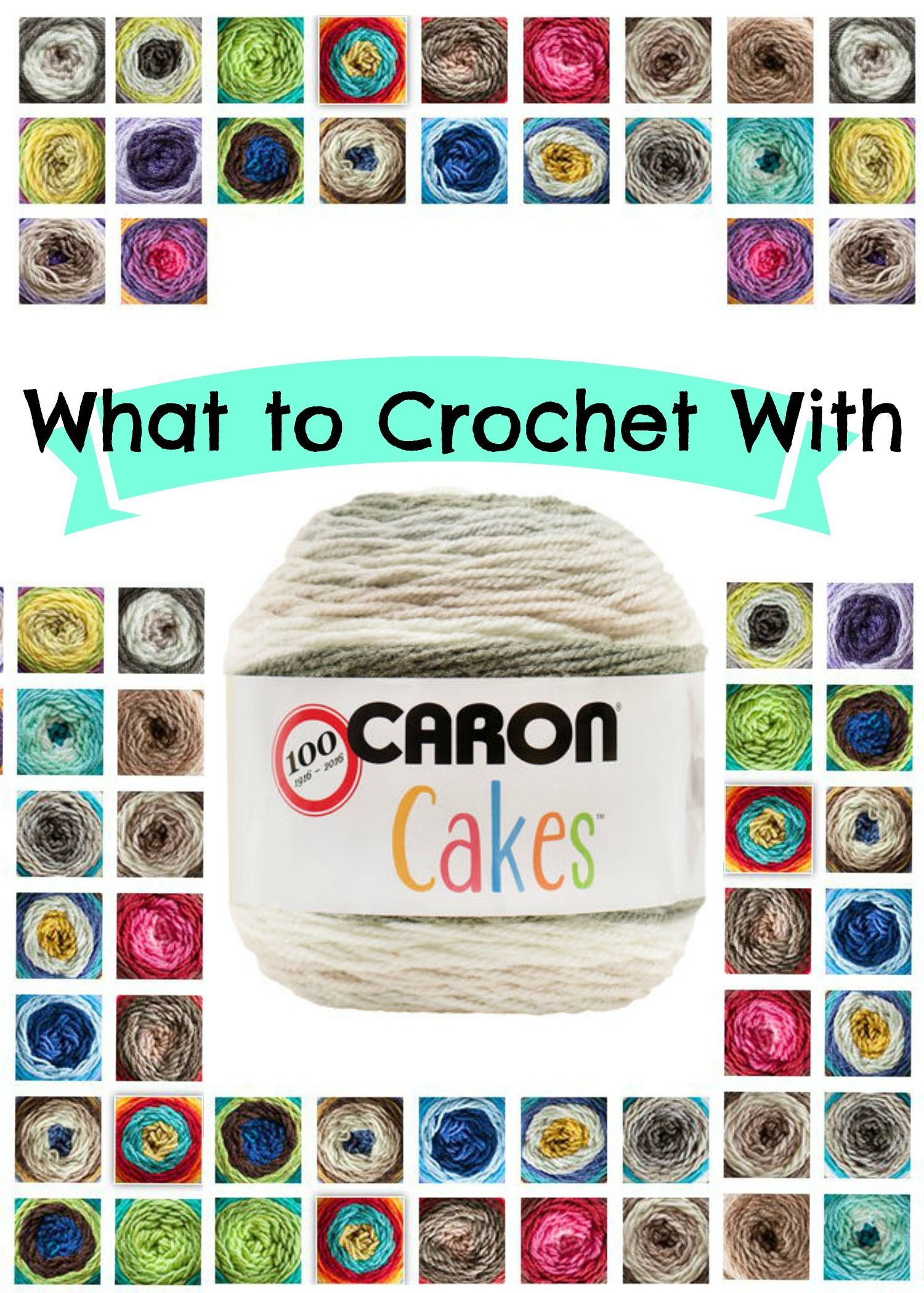 Caron Cakes Crochet Projects