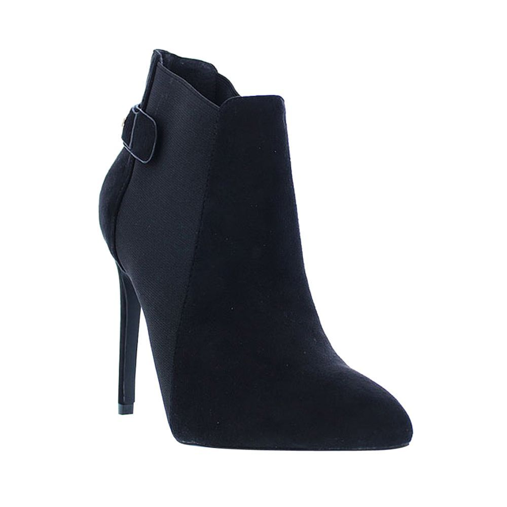d640c5b49a0 LILIANA Women s GF13 Elastic Panel Pointy Toe Stiletto Heel Ankle Booties