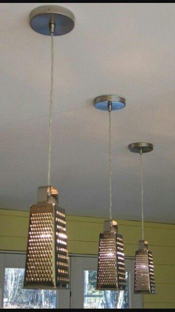 Diy Lampe Til Kokken Diy Lampe Genbrug Lampe Lamper