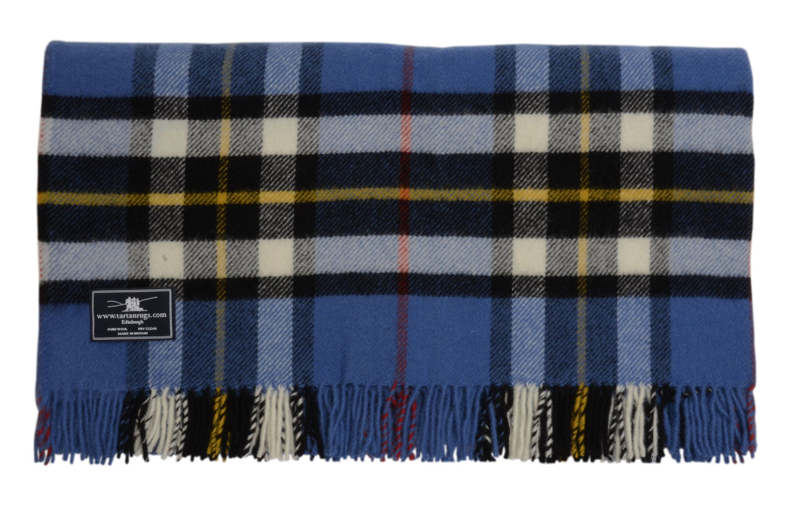 Thompson Tartan Premium Wool Travel Rug