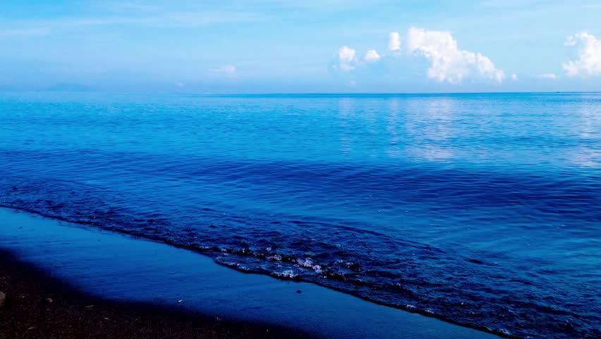 Calm Ocean Beach Wave Scenery Stock Footage Video 100 Royalty Free 1012295243 Beach Waves Ocean Beach Beach