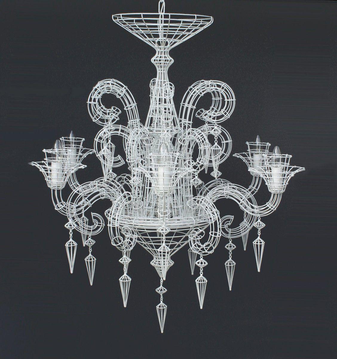 Neo baroque chandelier white neo baroque chandelier white abigail ahern aloadofball Images