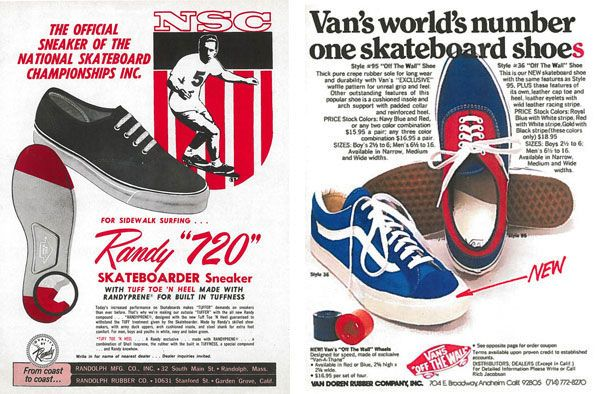 vans chaussures history