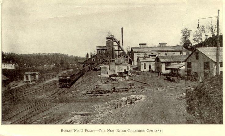 Newburg Wv Wv Coal Mine Seams Eccles West Virginia 1916