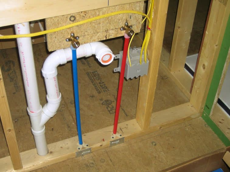 Shower valve with pex plumbing google search plumbing for How to plumb a house with pex