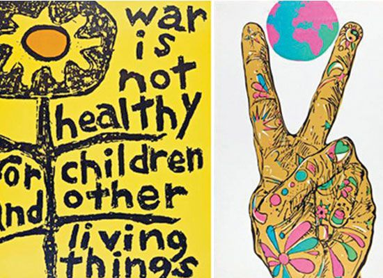 Original Protest Artworks Such As This Above Will Be Showcased In The Decade Of Dissent Exhibit At The Arena 1 G Protest Posters Protest Art Santa Monica Art