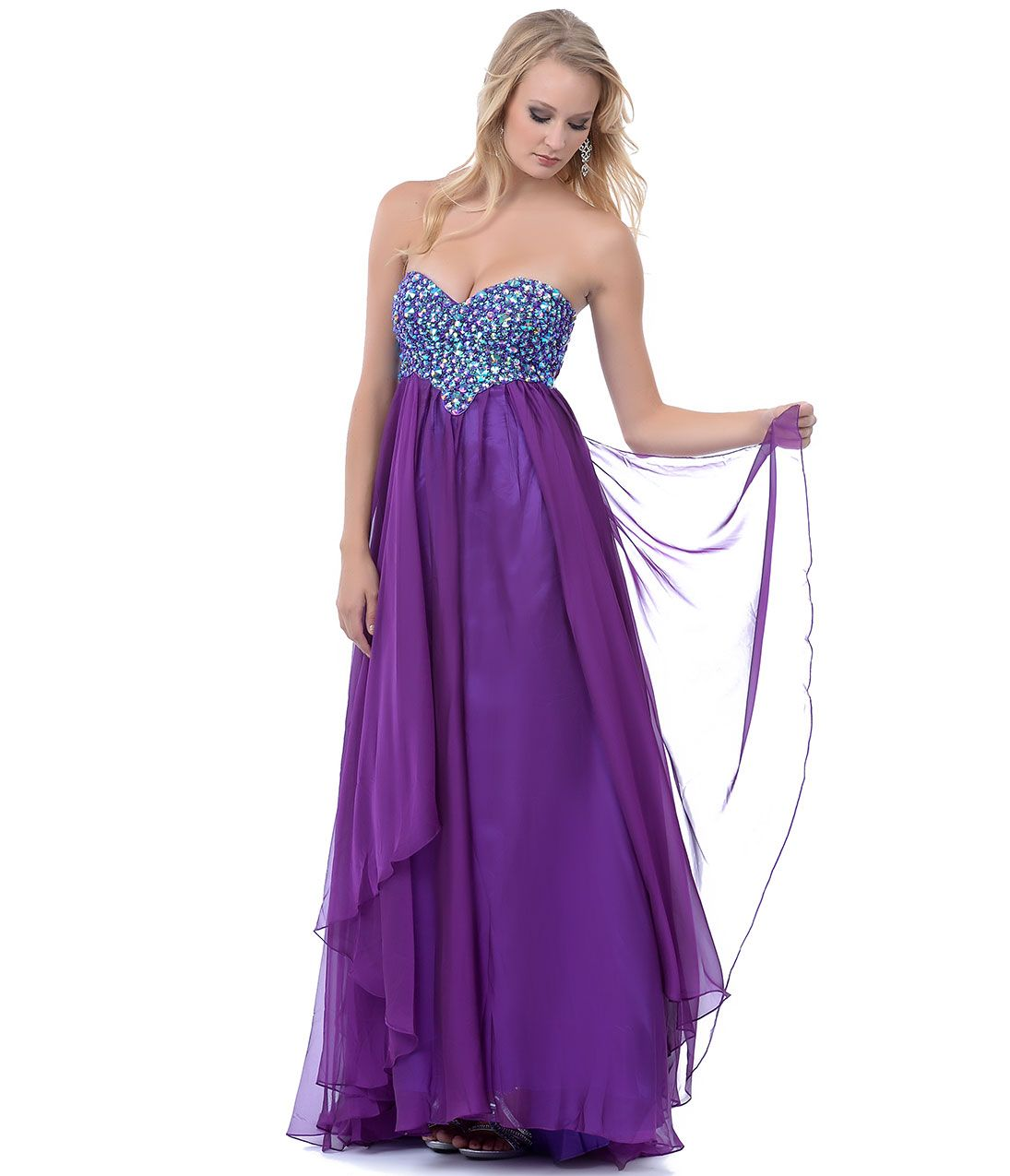 prom dresses 2014 purple