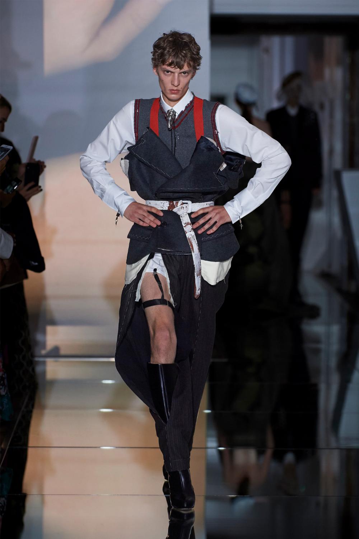 Maison Margiela Fall 2019 Couture Fashion Show | Menswear