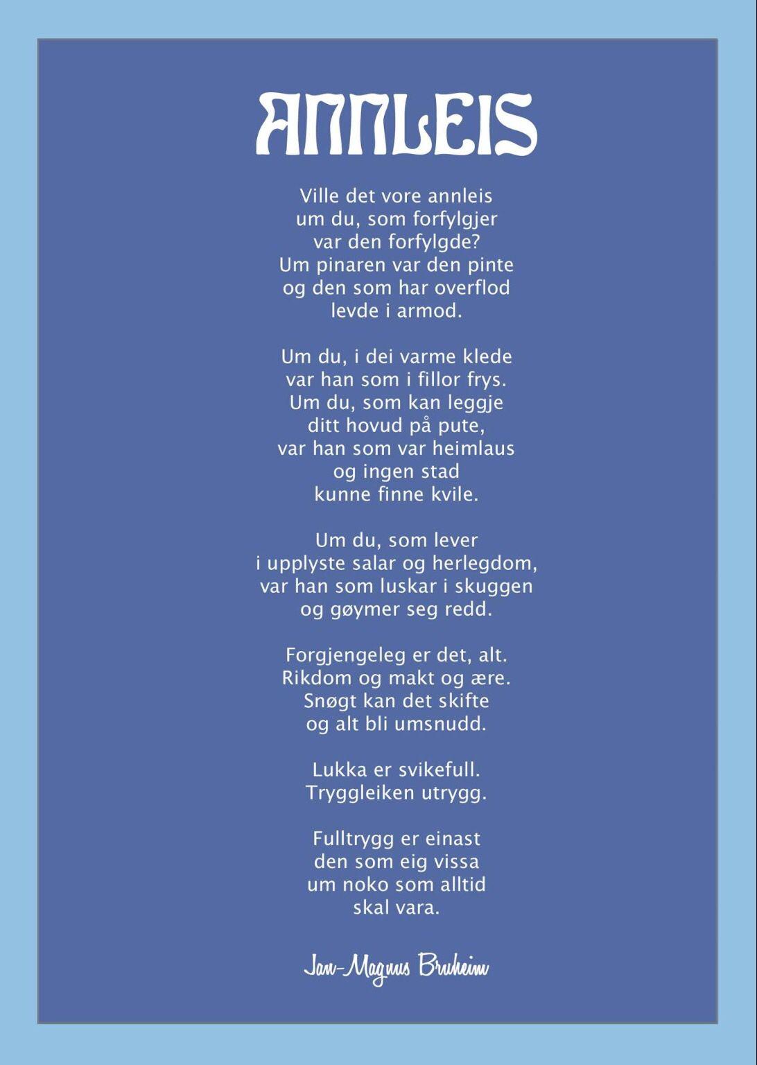 rolig 50 års dikt Jan Magnus Bruheim dikt | GODE ORD | Pinterest | Poem rolig 50 års dikt
