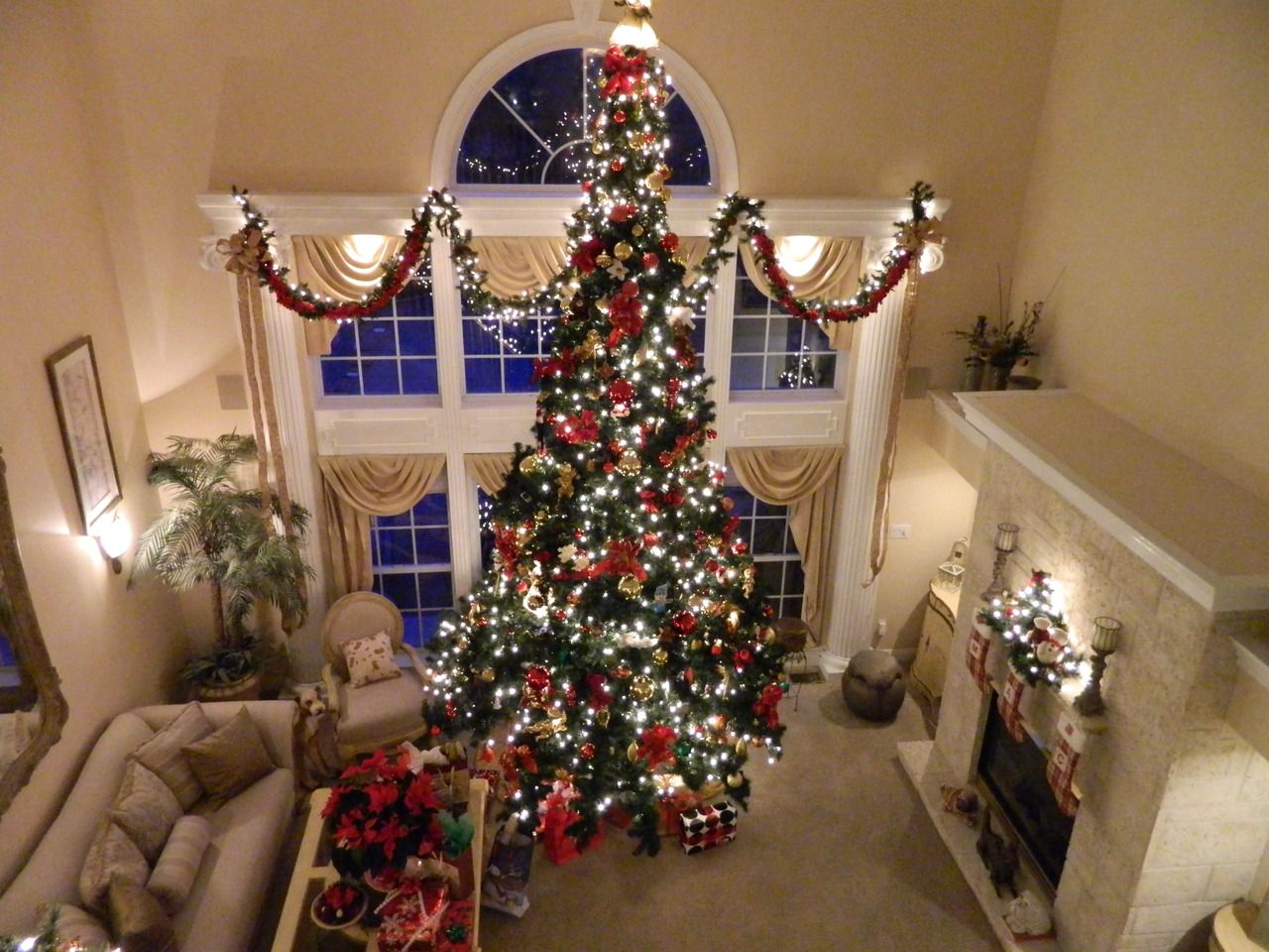 Christmas Blog Big Christmas Tree Christmas Lovers 12 Ft Christmas Tree