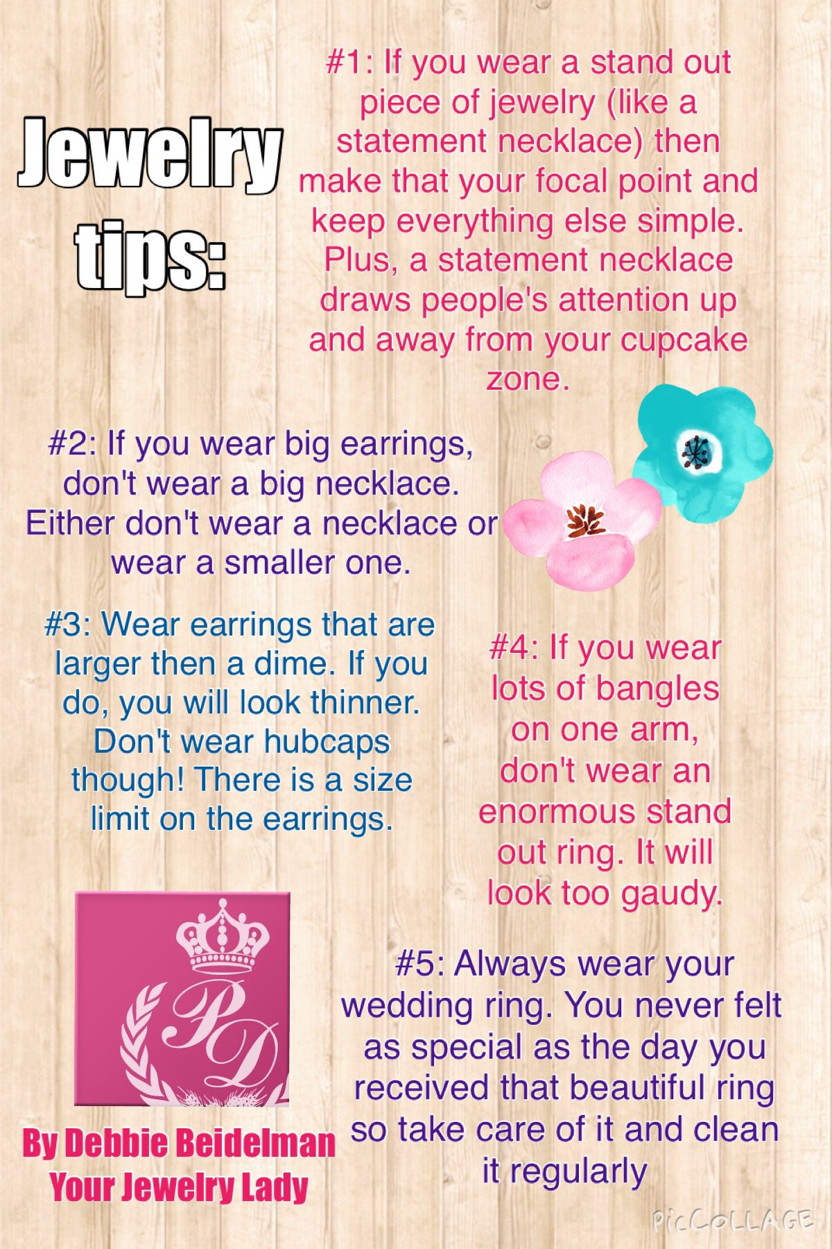 Jewelry tips by me!!!