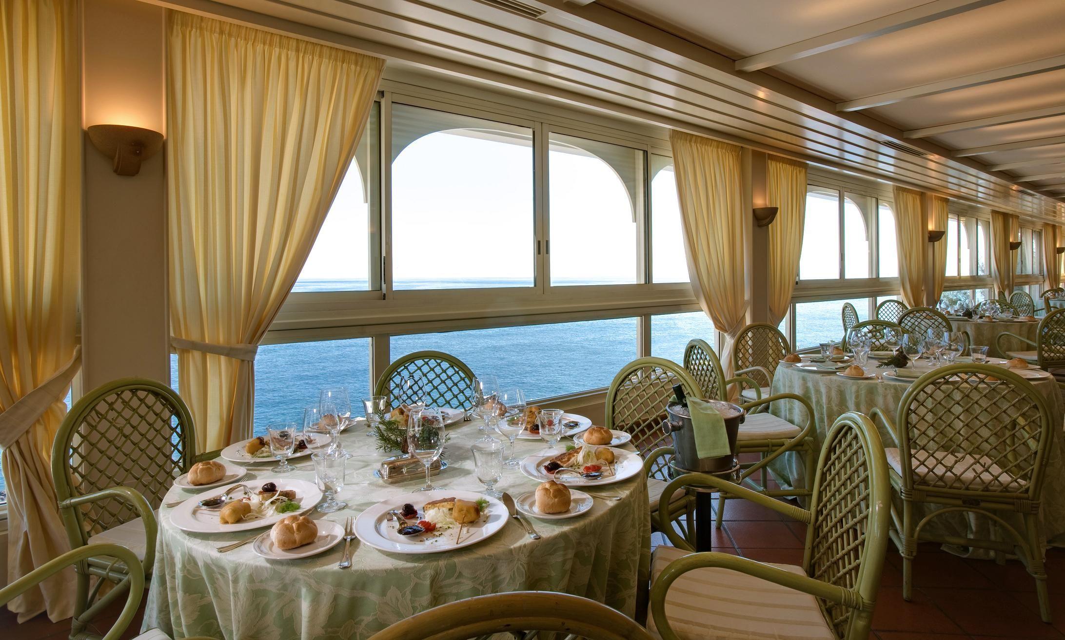 Roof Garden Seaview Grand Hotel Baia Verde Catania Sicily