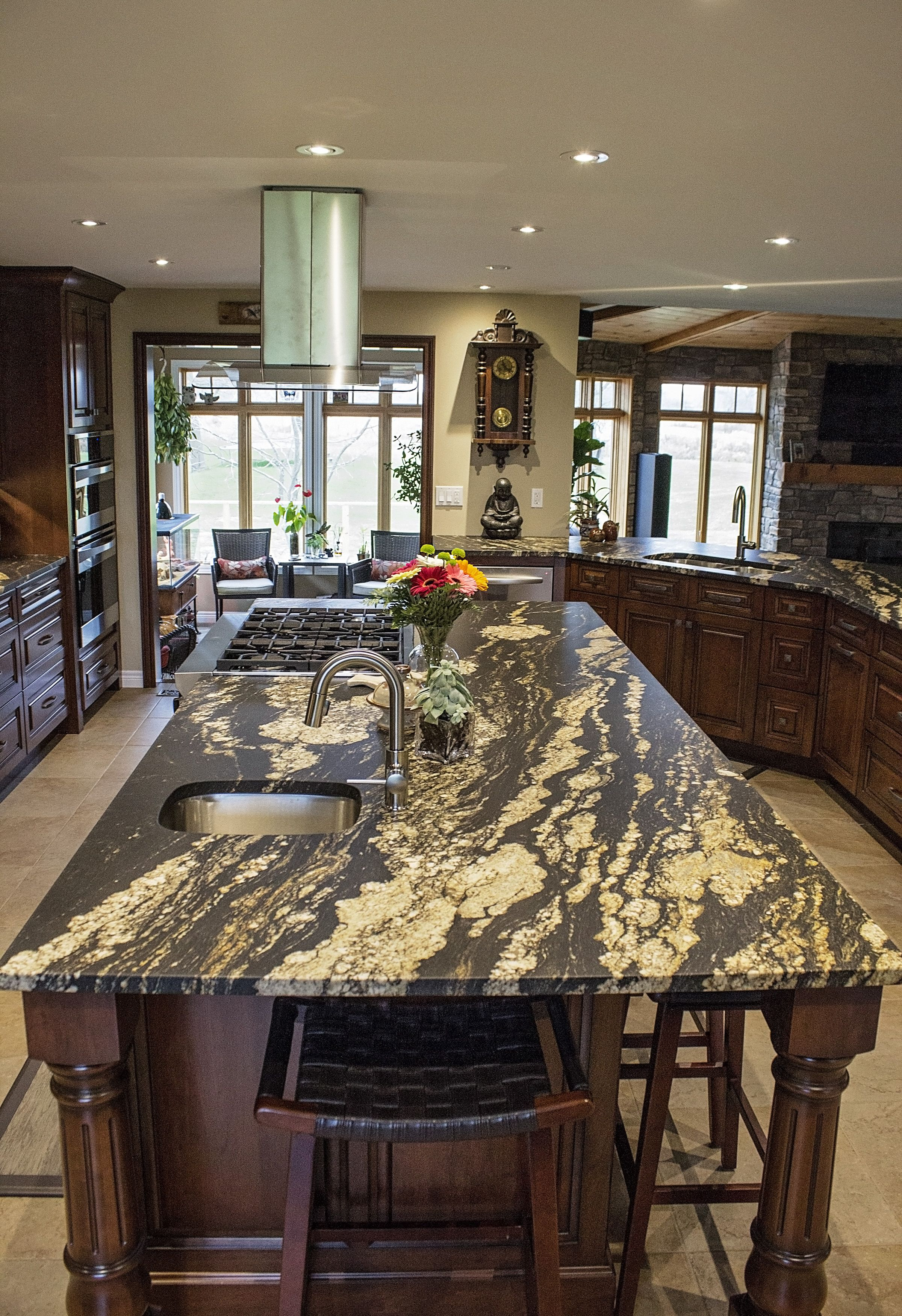 edge countertops leathered kitchen cutting gallery granite stoneworks