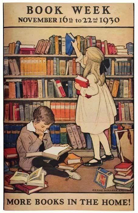 Leggere fin da piccoli...in una casa piena di libri!