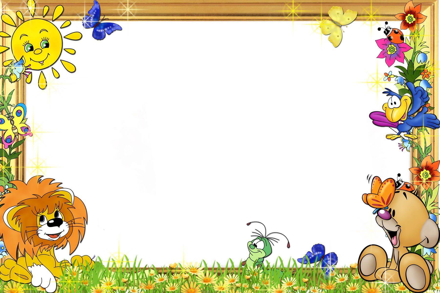 all disney cartoons photo frame for kids hd wallpaper - Pictures Of Cartoons For Kids