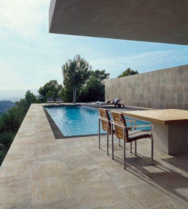 Gres Porcelaine Eemar City Pour Terrasse Exterieure Outdoor Flooring Outdoor Settings Outdoor Tiles Floor