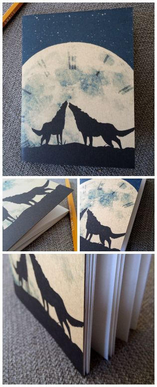 """Our newest notebook design, """"Hour of the Wolf"""""""