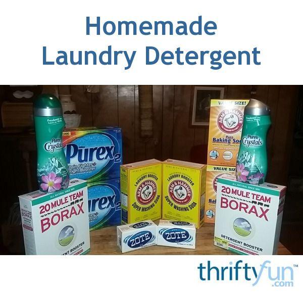 Duggar S Homemade Laundry Detergent Recipe Homemade Laundry