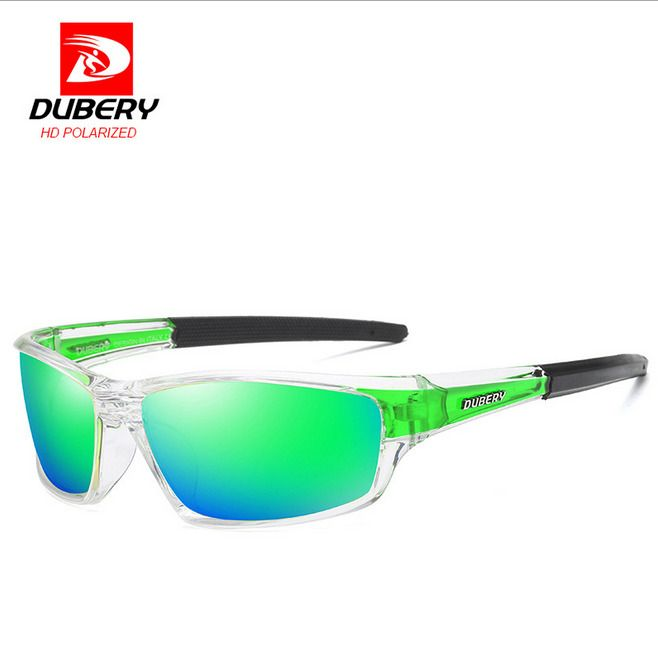 DUBERY Men/'s Polarized Sunglasses Outdoor Riding Fishing Goggles Glasses New