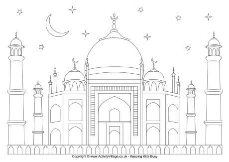 Eid Colouring Page 2 Ramadan Crafts Eid Decoration Eid