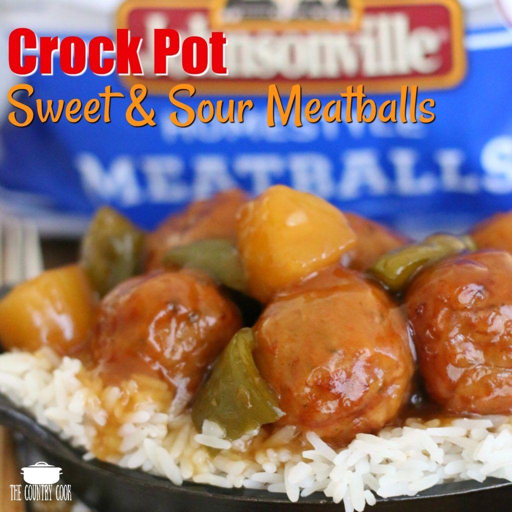 Crock pot swedish meatballs recipe sweet sour