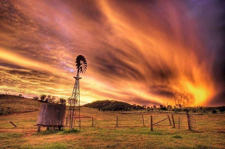 Rural Australia Sunset