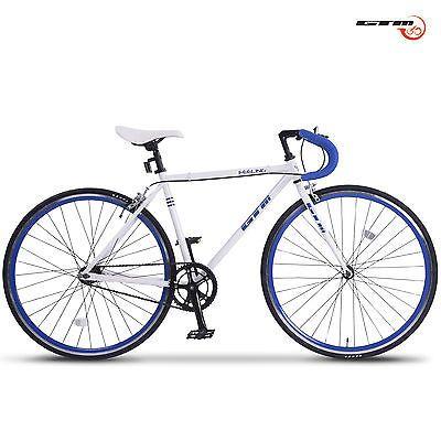 Aluminum Frame Road Bike Racing Bicycle 700C Single Speed Fixed Gear ...