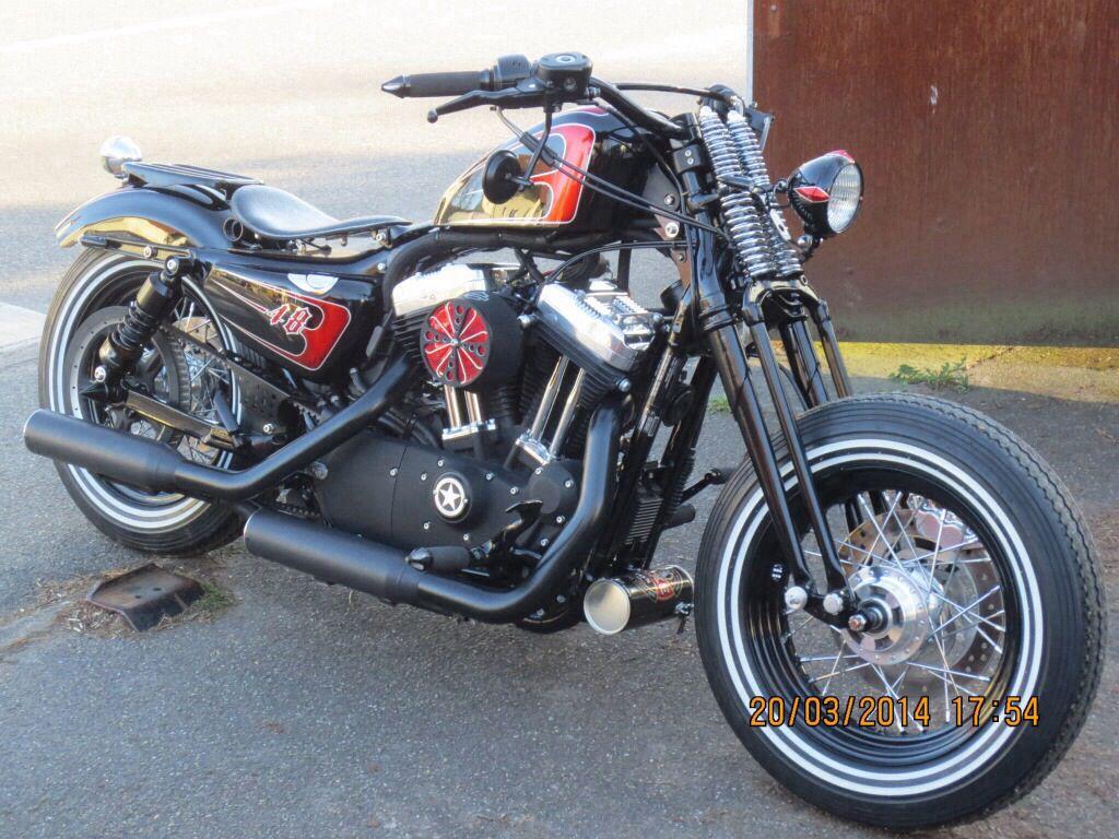Sportster 48 Springer Sportster Custom Sportster My Ride