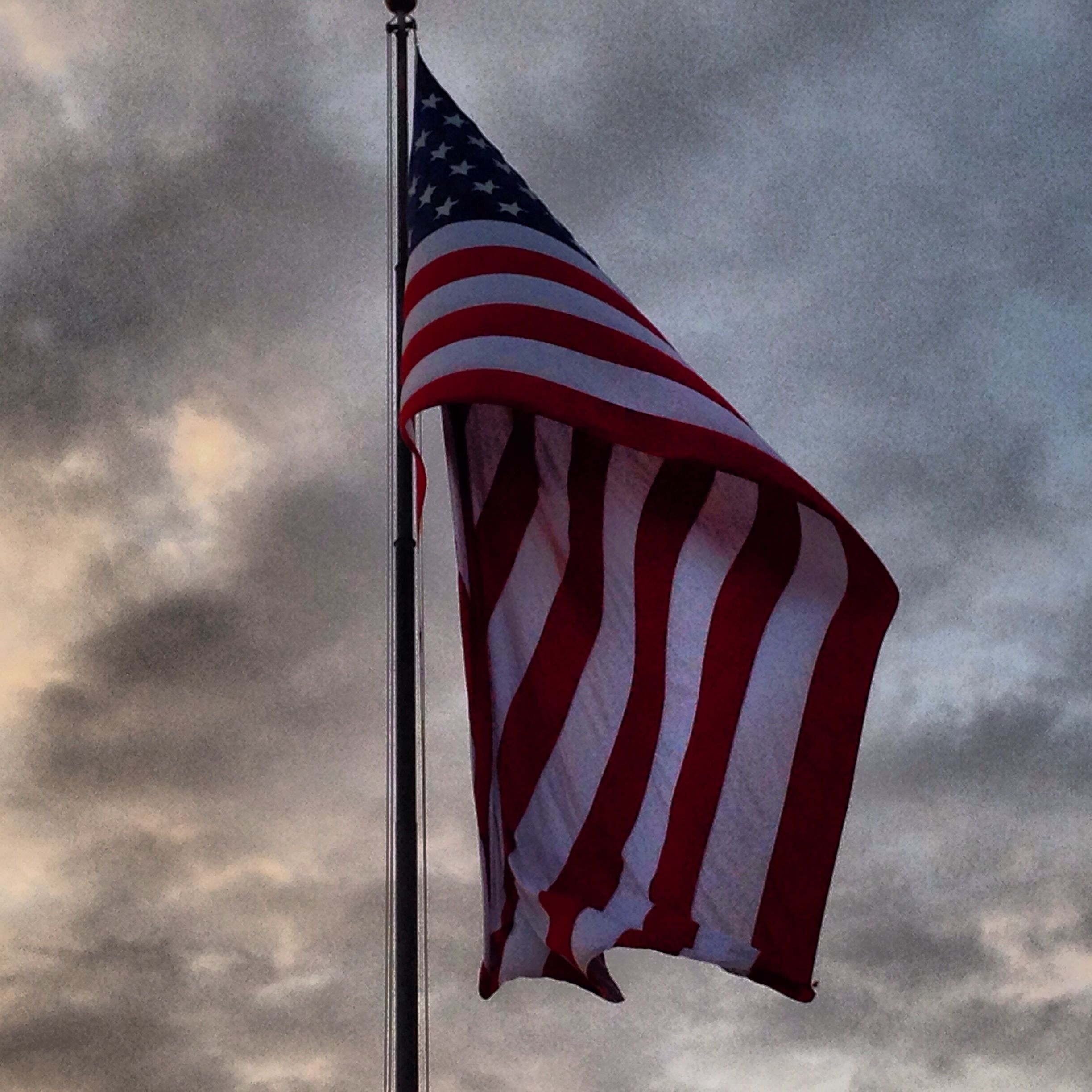 The Garrison Flag Is The Flag That Flies For Our Fallen Soldiers Much Respect Fallen Soldier The Garrison God Bless America