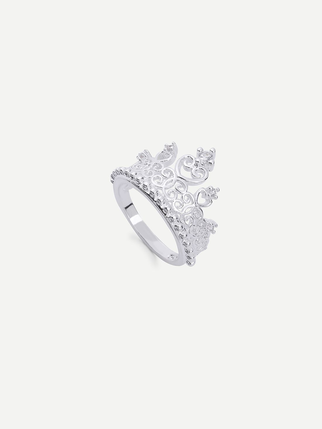 fbfb19830d Silver crown ring Latest Fashion For Women, Women's Fashion Dresses, Cute  Dresses, Pretty
