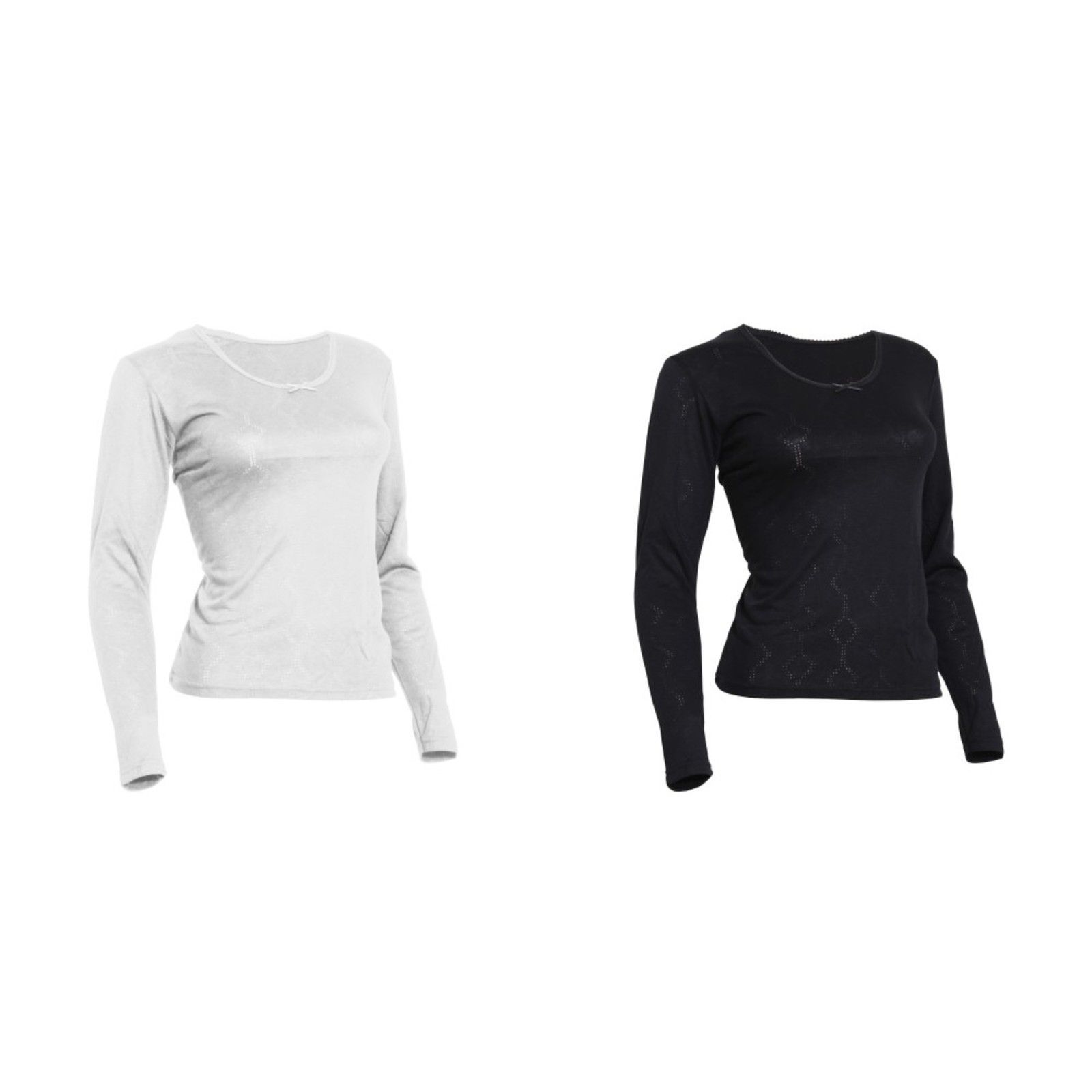 THERM134 FLOSO Ladies//Womens Thermal Underwear Long Sleeve T-Shirt